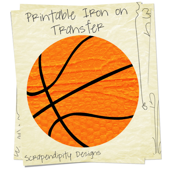 graphic regarding Printable Iron on Paper known as Young children Basketball Blouse - Basketball Mother Blouse