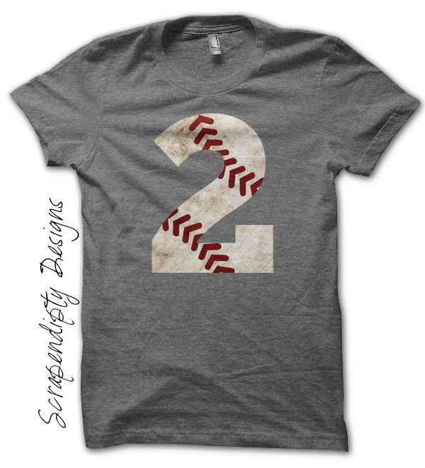 Baseball Number Shirt Custom Mom Birthday Party Iron On Transfer Pattern FC