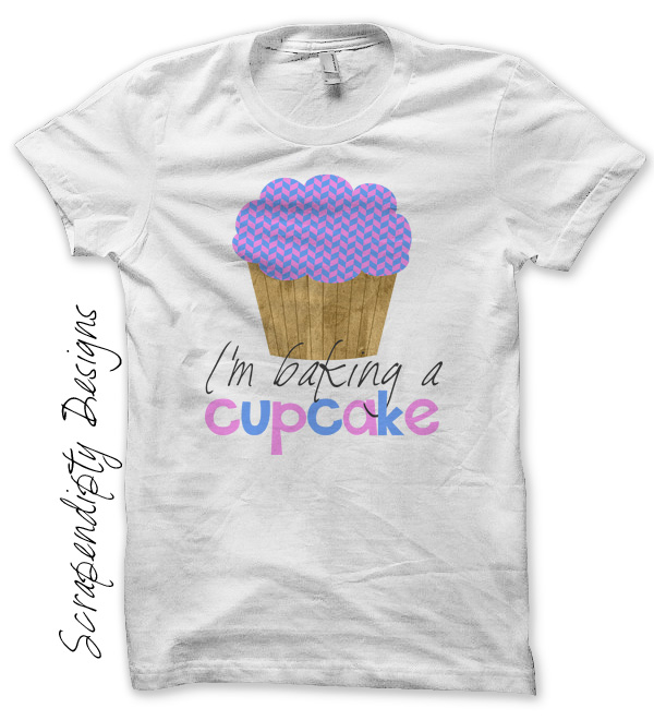 Scrapendipity Designs Pregnancy Announcement Shirt Im Baking – T Shirt Baby Announcement