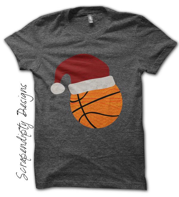 Basket Natale T-shirt Af6eeX
