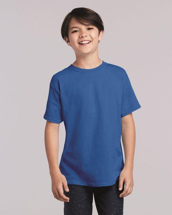 Gildan Cotton Tshirt, Kids Youth Shirt, Blank Shirts in Many Colors! 5000B